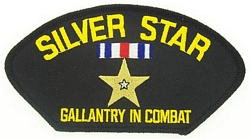 Silver Star Patches